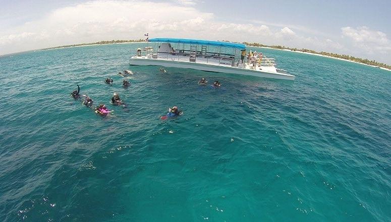 Excursion Isla Catalina punta cana
