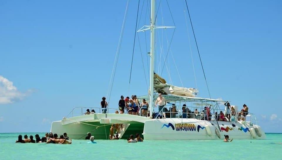 catamaran isla saona