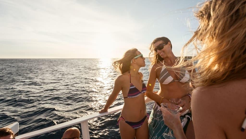 catamaran party boat caribean