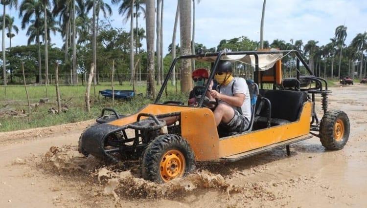 Combo buggies and horse riding punta cana